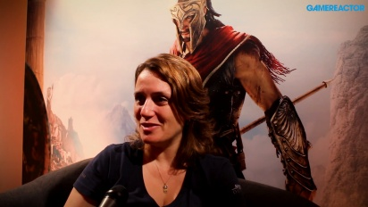 Assassin's Creed Odyssey - Interview mit Lydia Andrew