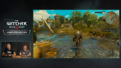 The Witcher 3: Wild Hunt Complete Edition - Nintendo Switch Gameplay Overview