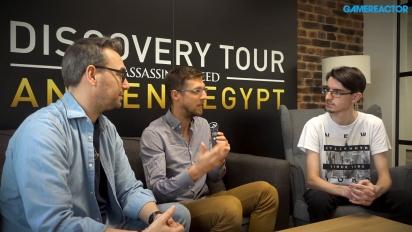 Entdeckungstour von Assassin's Creed: Das alte Ägypten - Interview mit Maxime Durand und Jean Guesdon