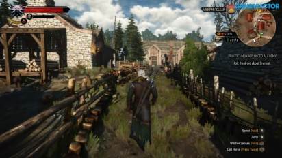The Witcher 3: Wild Hunt - Nintendo-Switch-Gameplay