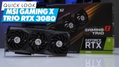 MSI Geforce RTX 3080 Gaming X Trio: Quick Look