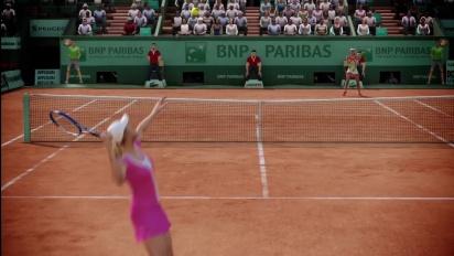 Grand Slam Tennis 2 - French Open Trailer