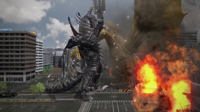 Godzilla - Ultimate Mayhem E3 15 Trailer