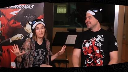 Persona 5 - Interviewing Cassandra Morris