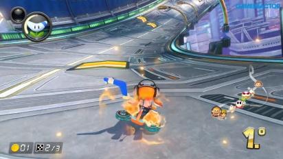 Mario Kart 8 Deluxe - Girl Inkling 150cc 1080p60 Gameplay