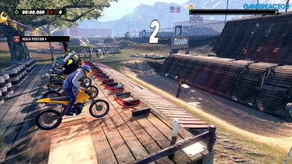 Trials Rising - PS4-Gameplay
