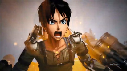 Attack on Titan 2: Final Battle - Stadia Gamescom Trailer