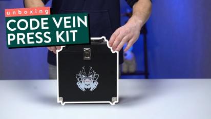 Code Vein - Unboxing des Presse-Kits
