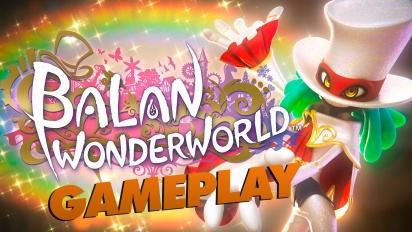 Balan Wonderworld - Gameplay (Demo)