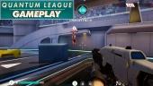Quantum League - Erster Sieg (Gameplay)