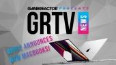 GRTV News - Apple zeigt ihre brandneuen Macbook-Pro-Modelle