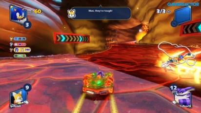 Team Sonic Racing - Hidden Volcano (Mehrspieler-Rennen)