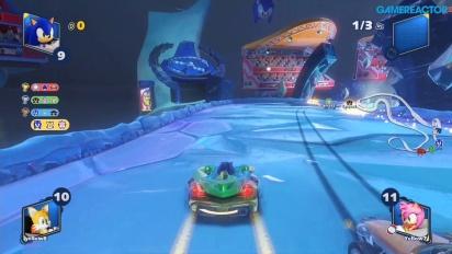 Team Sonic Racing - Frozen Junkyard (Mehrspieler-Rennen)