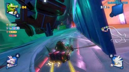 Team Sonic Racing - Frozen Junkyard (Einzelspieler-Rennen)
