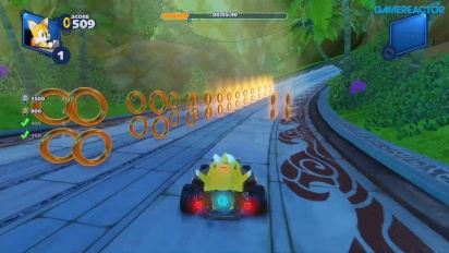 Team Sonic Racing - Lost Palace (Ring-Herausforderung)