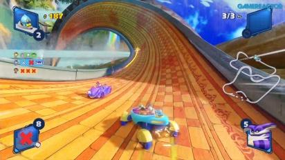 Team Sonic Racing - Lost Palace (Überlebensrennen)