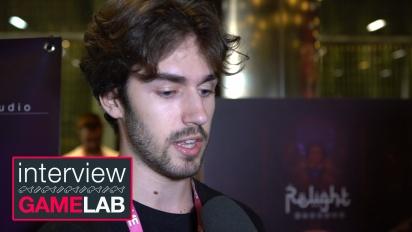 Relight - Interview mit Pedro López