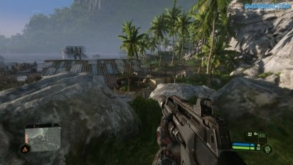 Crysis Remastered - Gameplay mit ''Can it Run Crysis''-Grafikeinstellungen