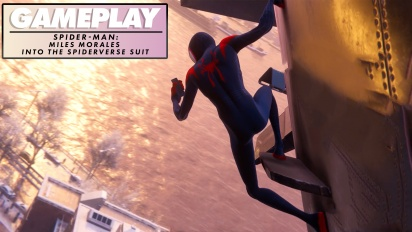 Spider-Man: Miles Morales - Into-The-Spider-Verse-Anzug (Gameplay)