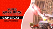 Super Smash Bros. Ultimate - Sora gegen Mario (Gameplay)